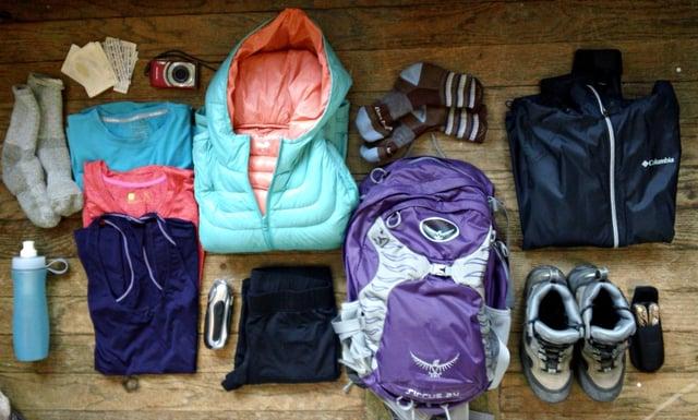 Tongariro Alpine Crossing Gear List